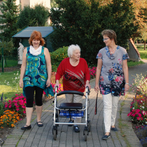 Seniorenbetreuung Pflege Seniorin Demenz Alzheimer